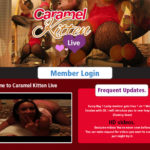 Caramel Kitten Live Hot Sex