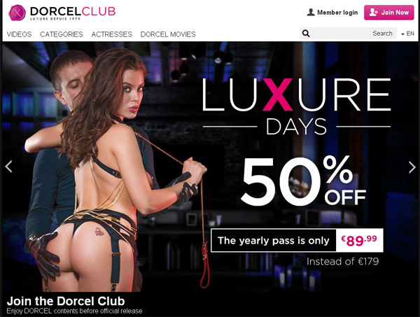 Join Dorcel Club Paypal