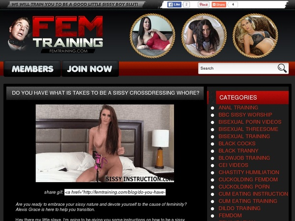 Logins For Fem Training