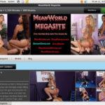 Mean World MegaSite Active Accounts