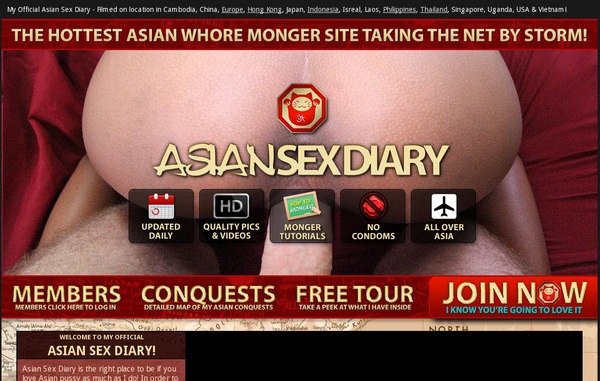 New Asian Sex Diary Account