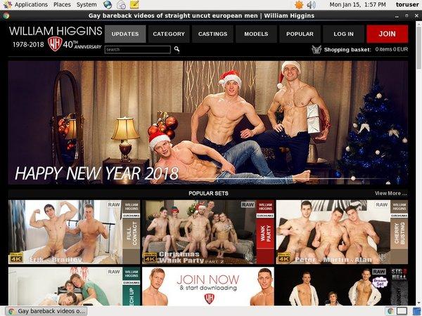 William Higgins Full Website