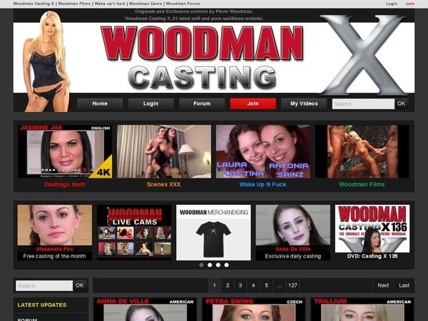 Woodman Casting X New Accounts
