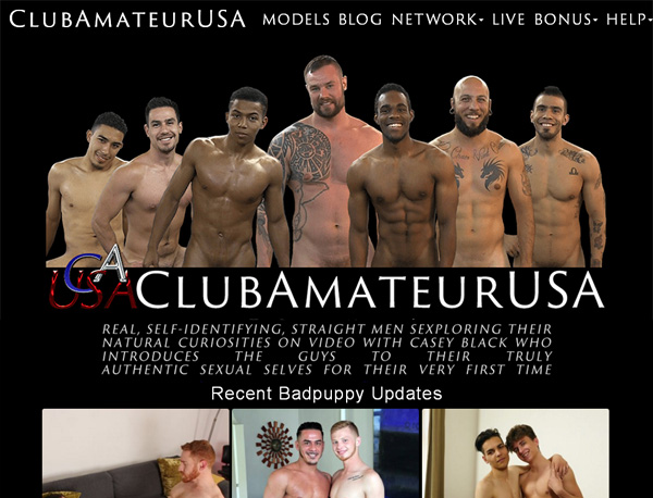 Club Amateur USA Join By Direct Pay
