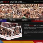 Czech Mega Swingers With Amex