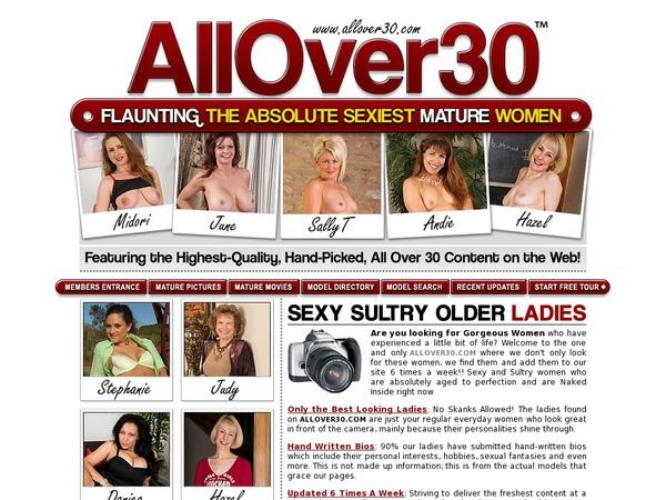 Free Allover30.com Discount Offer