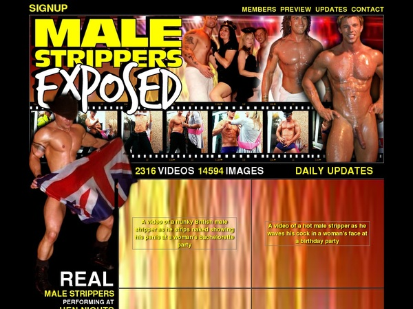 Discount Male Strippers Exposed Save 50%