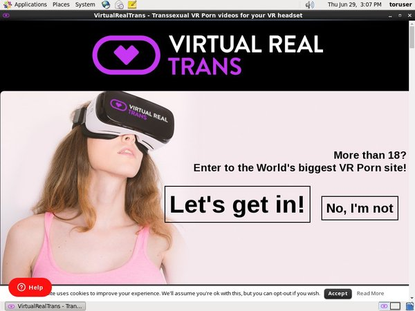 Virtual Real Trans Limited Deal