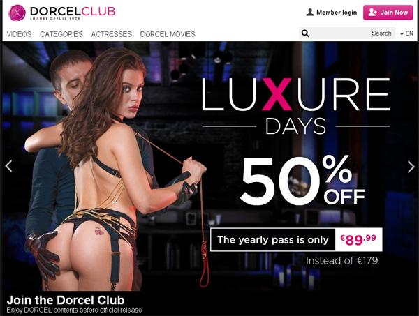 Dorcelclub.com Premium Account Free