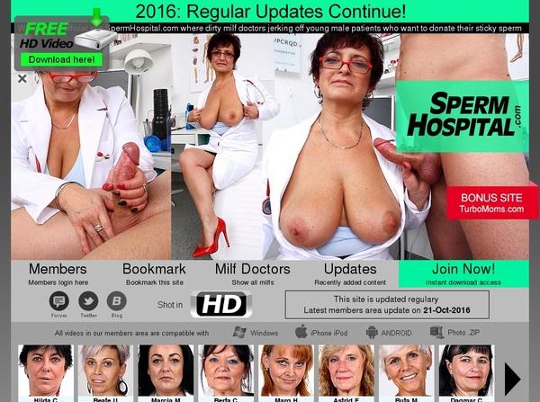 Sperm Hospital Free Acount